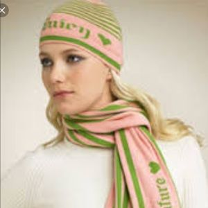 Juicy Couture cotton and cashmere scarf